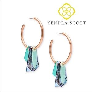 Kendra Scott Gaby Rose Statement Earrings